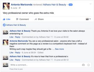 Adhara Hair Salon Reviews Antonia