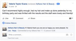 Adhara Hair Salon Reviews valerie