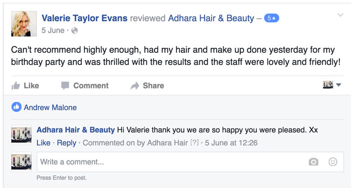 Adhara Hair Salon Reviews Valerie