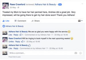 Adhara Hair Salon Reviews