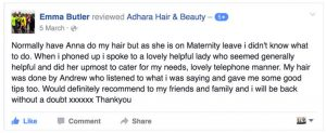 Adhara FB Review Emma