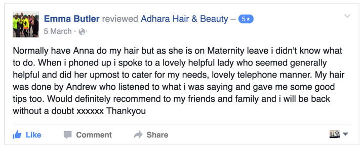 Adhara FB Review Emma