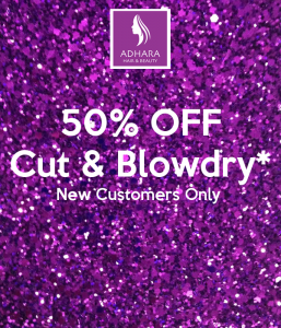 50% Off Cut & Blowdry for New Customers