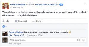 Adhara FB Review Amelia