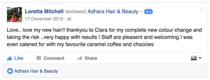 Hair Salon Review Loretta