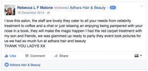 Hair Salon FB Review
