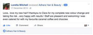 Adhara Hair Salon Reviews Loretta