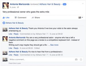 Adhara FB Reviews Antonia