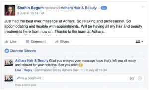 Adhara Hair Salon Reviews Shahin