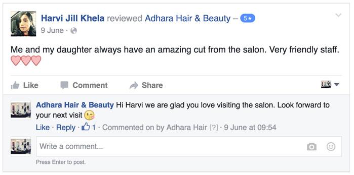 Adhara Hair Salon Reviews Harvi