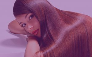 Adhara Hair Beauty Purple Woman