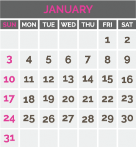 Adhara Calendar