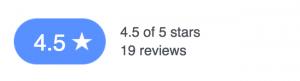 4.5 / 5 - 19 reviews