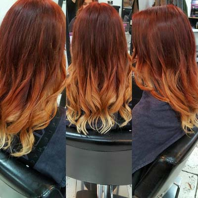 Haircut & Ombre Colour